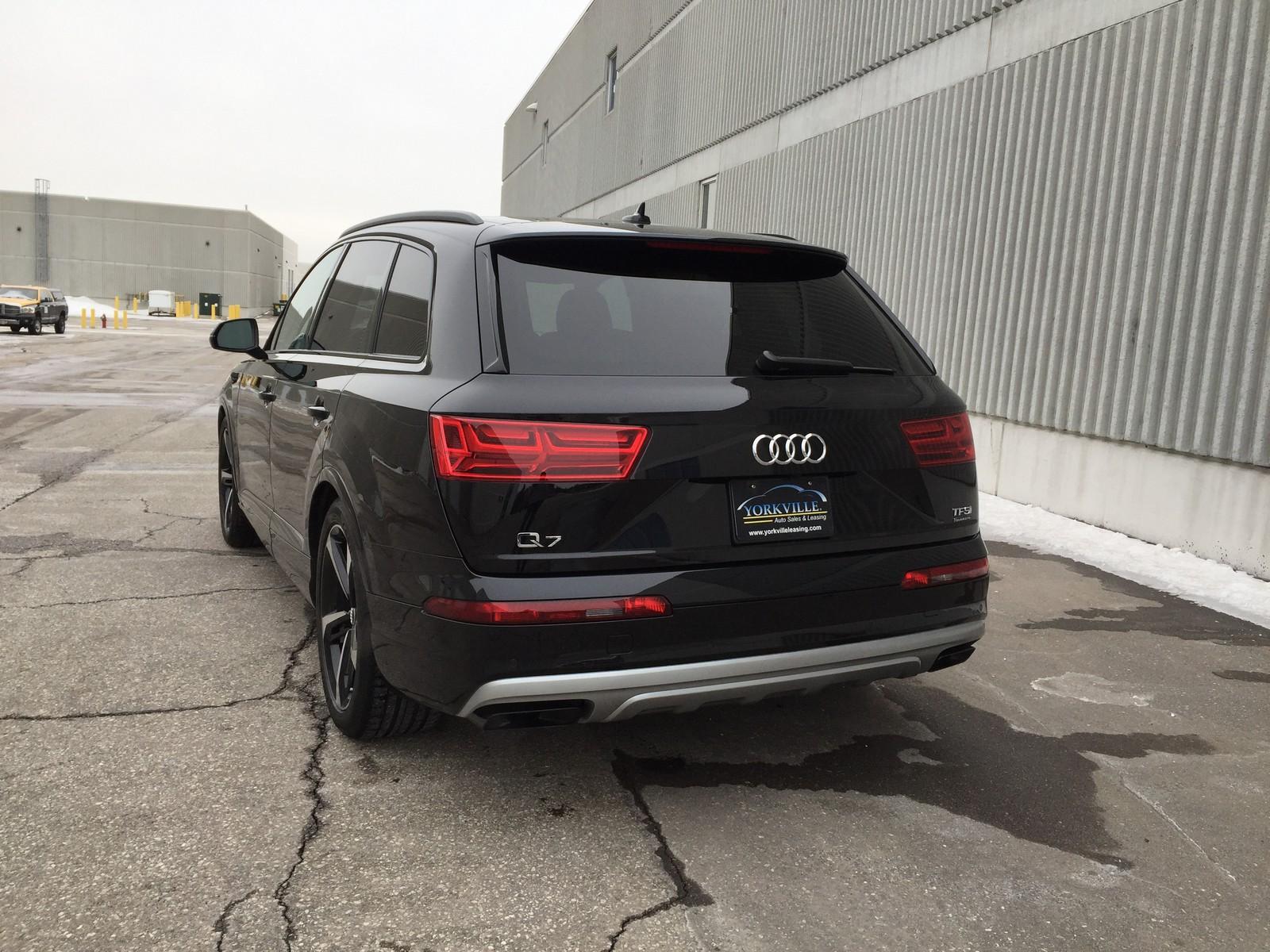 """2018 Audi Q7 3 0T Technik """"Special Edition"""" Pkg"""