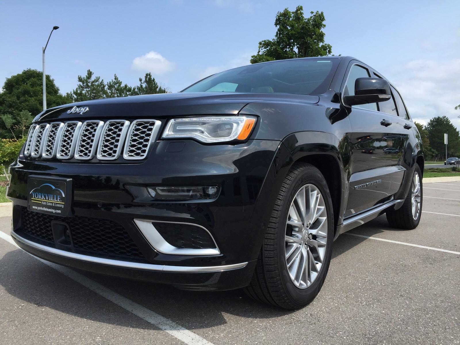 2018 Jeep Grand Cherokee Summit - LOADED!